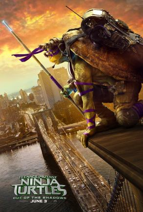 'Teenage Mutant Ninja Turtles: Out of the Shadows' Character Poster