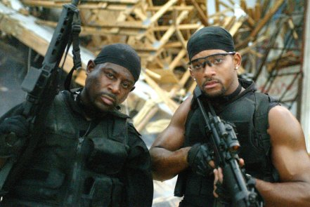 Martin Lawrence & Will Smith in 'Bad Boys II'