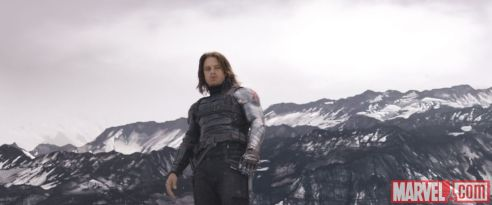 Sebastian Stan as Winter Soldier in 'Captain America: Civil War'