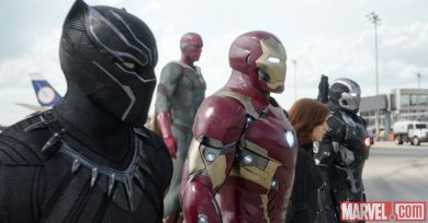 Team Iron Man in 'Captain America: Civil War'