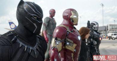 Team Iron Man in 'Captain America: Civil War'