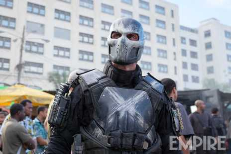 Frank Grillo as Crossbones in 'Captain America: Civil War'