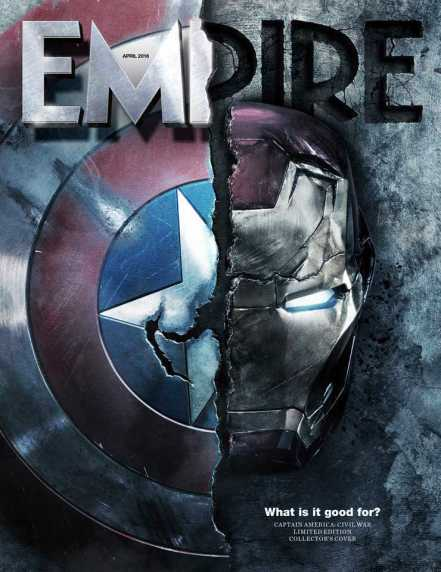 'Captain America: Civil War' Empire Cover