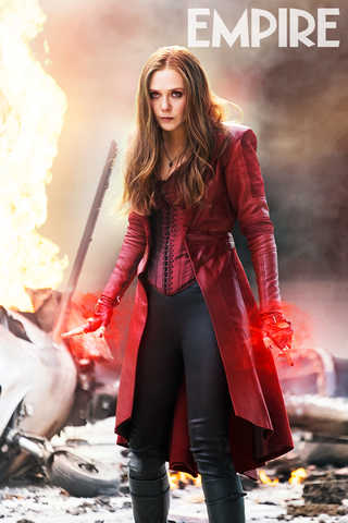 Elizabeth Olsen as Scarlet Witch in 'Captain America: Civil War'