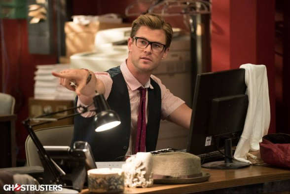 Chris Hemsworth in 'Ghostbusters'