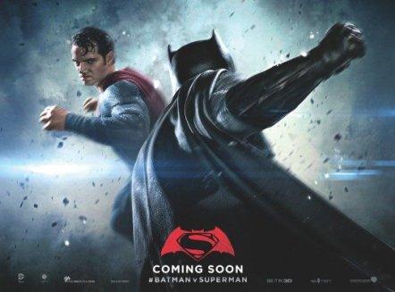 'Batman v Superman: Dawn of Justice' Teaser Poster