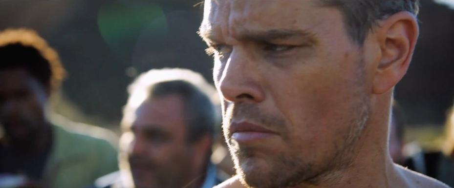 Matt Damon as Jason Bourne in 'Jason Bourne'