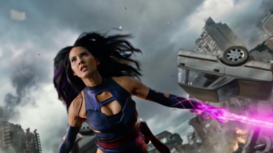 Olivia Munn as Psylocke in 'X-Men: Apocalypse'
