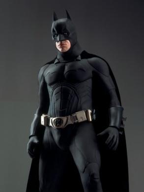 Christian Bale as Batman for Batman Begins