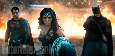 Henry Cavill, Gal Gadot & Ben Affleck in 'Batman v Superman: Dawn of Justice'