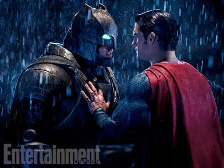 Ben Affleck & Henry Cavill in 'Batman v Superman: Dawn of Justice'