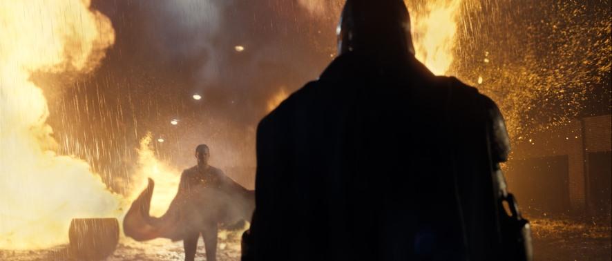 Henry Cavill & Ben Affleck in Batman v Superman: Dawn of Justice