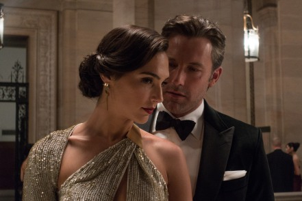 Gal Gadot & Ben Affleck in Batman v Superman: Dawn of Justice