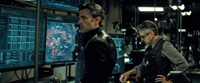 Ben Affleck & Jeremy Irons in Batman v Superman: Dawn of Justice