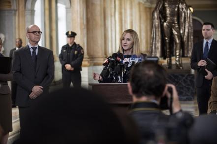 Holly Hunter in Batman v Superman: Dawn of Justice