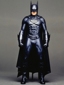 George Clooney as Batman (Clooney Suit)