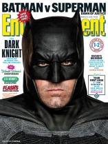 EW 'Batman v Superman: Dawn of Justice' Batman Cover