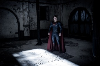 Henry Cavill as Superman in Batman v Superman: Dawn of Justice