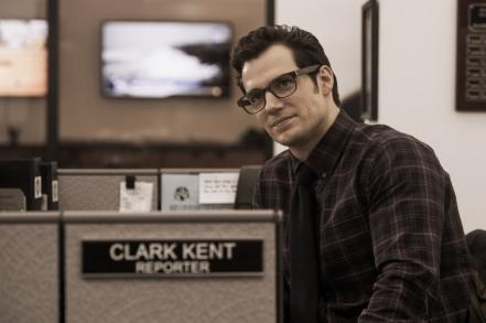 Henry Cavill as Clark Kent in Batman v Superman: Dawn of Justice