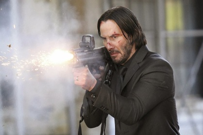Keanu Reeves as John Wick in 'John Wick'