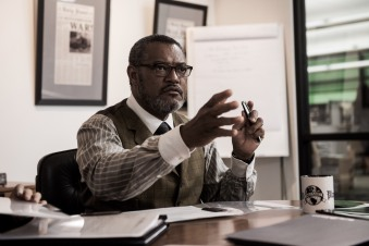 Laurence Fishburne as Perry White in Batman v Superman: Dawn of Justice