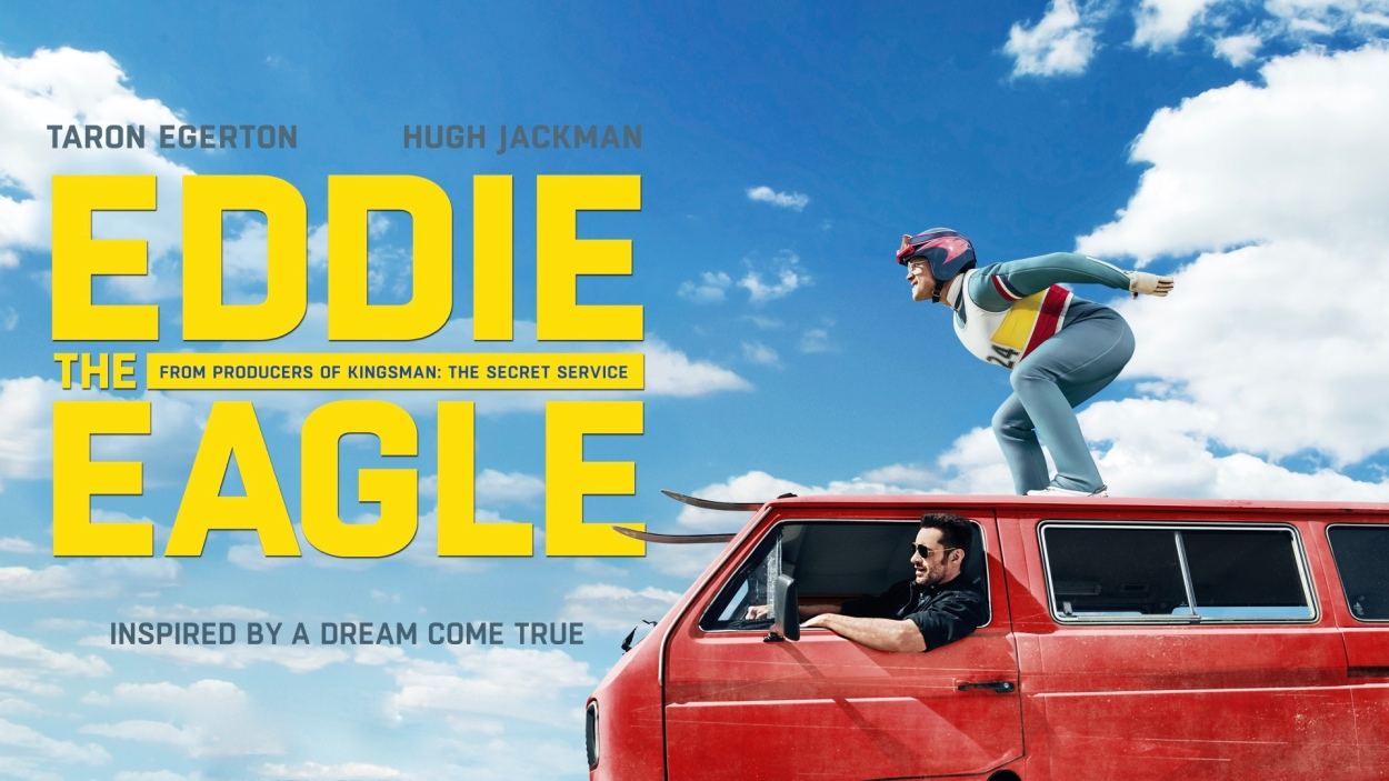 Image result for EDDIE THE EAGLE MOVIE POSTER