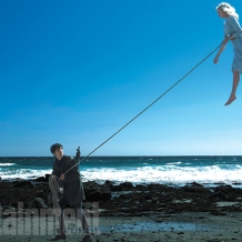 Asa Butterfield & Ella Purnell in 'Miss Peregrine's Home for Peculiar Children'