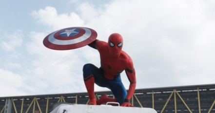 Tom Holland as Spider-Man in 'Captain America: Civil War'