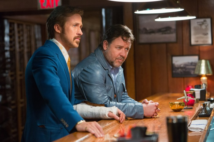 Ryan Gosling & Russell Crowe in The Nice Guys