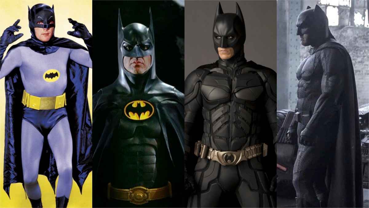 Poll: Which Live-Action Batman Suit Is the Best?