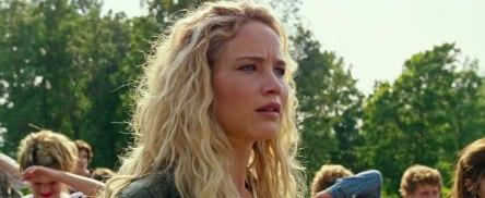 Jennifer Lawrence as Raven in X-Men: Apocalypse