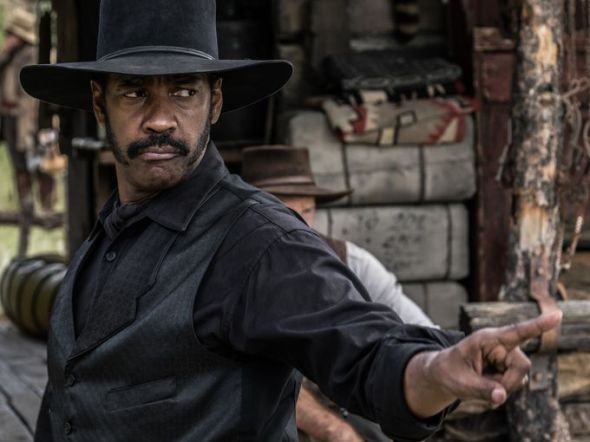 Denzel Washington in The Magnificent Seven