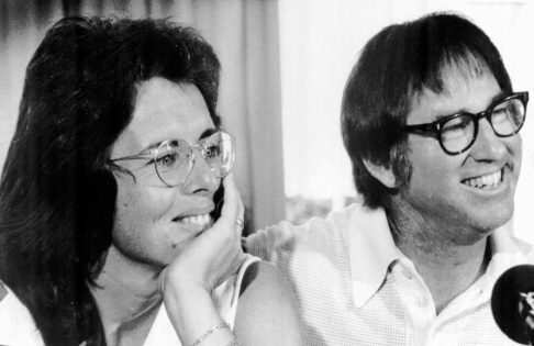 Billie Jean King & Bobby Riggs