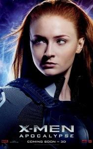 X-Men: Apocalypse Character Poster - Jean Grey