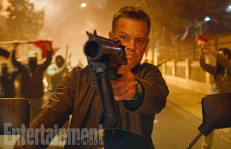 Matt Damon as Jason Bourne in Jason Bourne