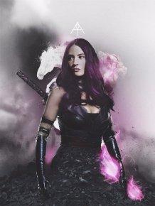 X-Men: Apocalypse Poster - Psylocke