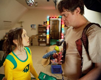Ellen Page & Rainn Wilson in Super