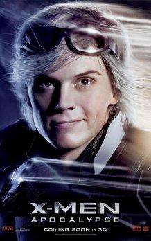 X-Men: Apocalypse Character Poster - Quicksilver