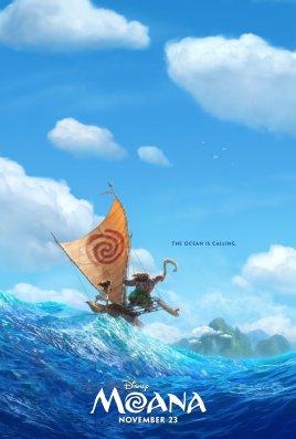 Moana Teaser Poster