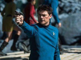 Karl Urban in Star Trek Beyond