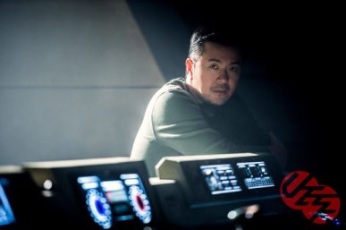 Justin Lin on set Star Trek Beyond