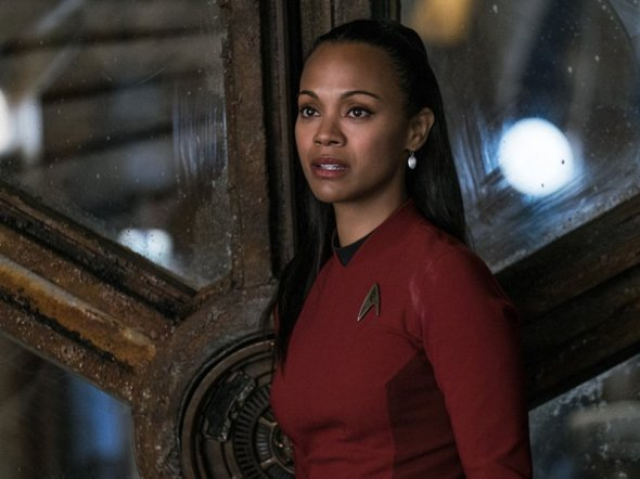 Zoe Saldana in Star Trek Beyond