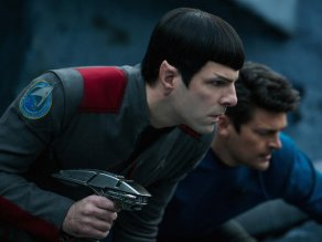 Zachary Quinto & Karl Urban in Star Trek Beyond