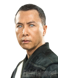 "Pronounced chi-RUT, he's no Jedi, but he's devoted to their ways and has used his spirituality to overcome his blindness and become a formidable warrior. ""Chirrut falls into the category of being a warrior monk,"" says Kennedy. ""He very much still believes in everything the Jedi were about."" He maintains that belief even though the Jedi are no longer there to protect the galaxy. As director Gareth Edwards puts it: ""This idea that magical beings are going to come and save us is going away, and it's up to normal, everyday people to take a stand to stop evil from dominating the world."""