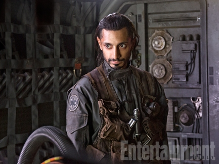"""The Surly Pilot We don't yet know what kind of craft he'll be maneuvering, but Riz Ahmed (Nightcrawler) will costar as the Rebel squad's lead pilot, Bodhi Rook. """"He's a very experienced pilot. Flies a lot of cargo, one of his key jobs,"""" Kennedy says. """"And he tends to be a little tense, a little volatile, but everybody in the group really relies on his technical skills."""""""