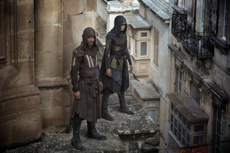 Michael Fassbender & Ariane Label in Assassin's Creed