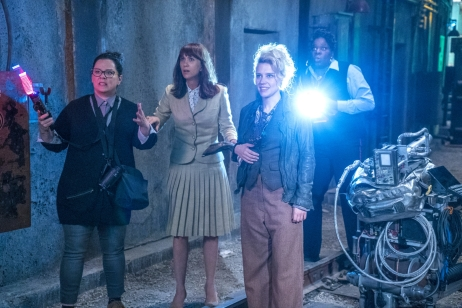 Melissa McCarthy, Kristen Wiig, Kate McKinnon & Leslie Jones in Ghostbusters