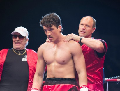 Miles Teller & Aaron Eckhart in Bleed for This