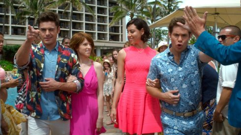 Zac Efron, Anna Kendrick, Aubrey Plaza & Adam Devine in Mike and Dve Need Wedding Dates