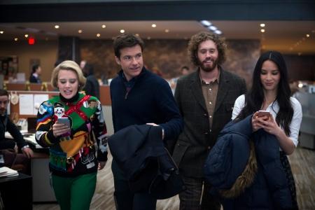 Kate McKinnon, Jason Bateman, T.J. Miller & Olivia Munn in Office Christmas Party